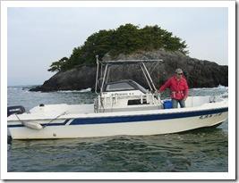 hanamiさんマイボート