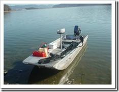 バスボート 富士沼にて